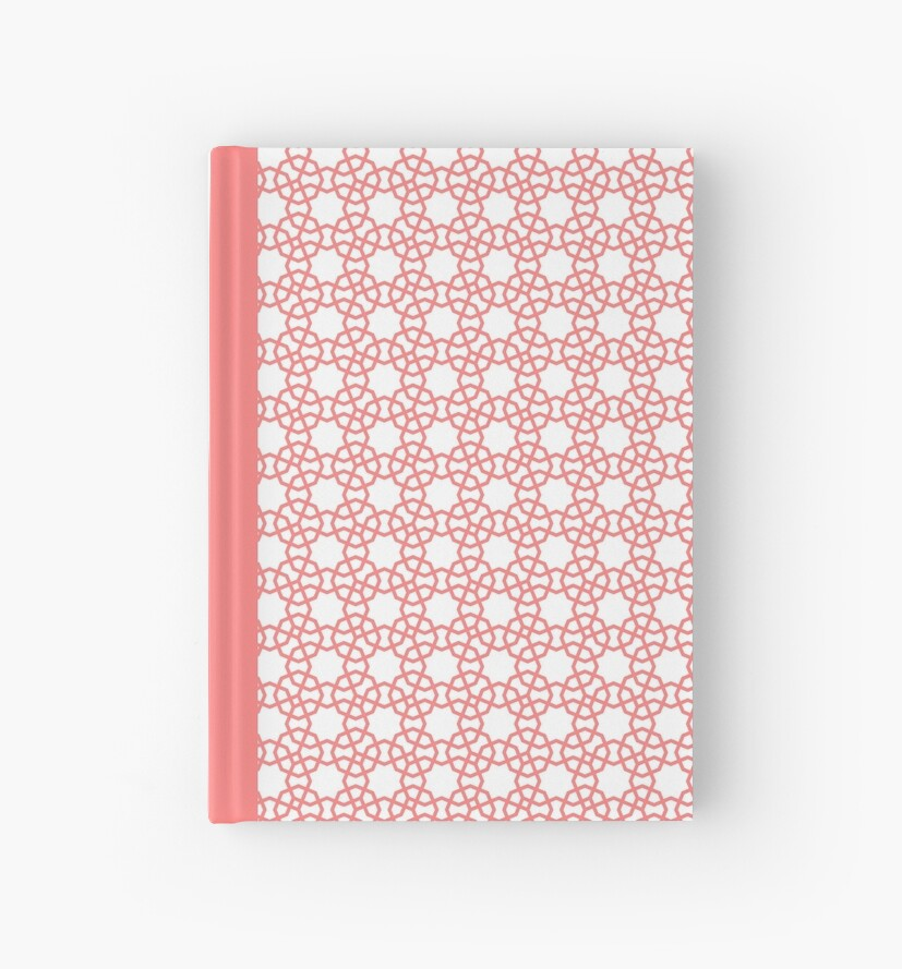 Peach and White Islamic Inspired Octagon Geometry by MissingPurple