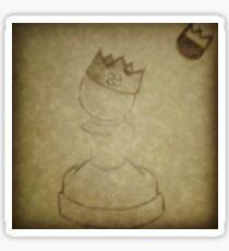 King Me Sticker