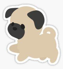 Chibi Pug Sticker
