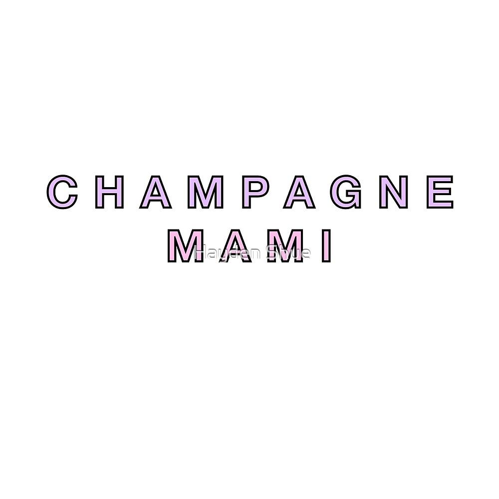 Champagne Mami by Jupiter Shue