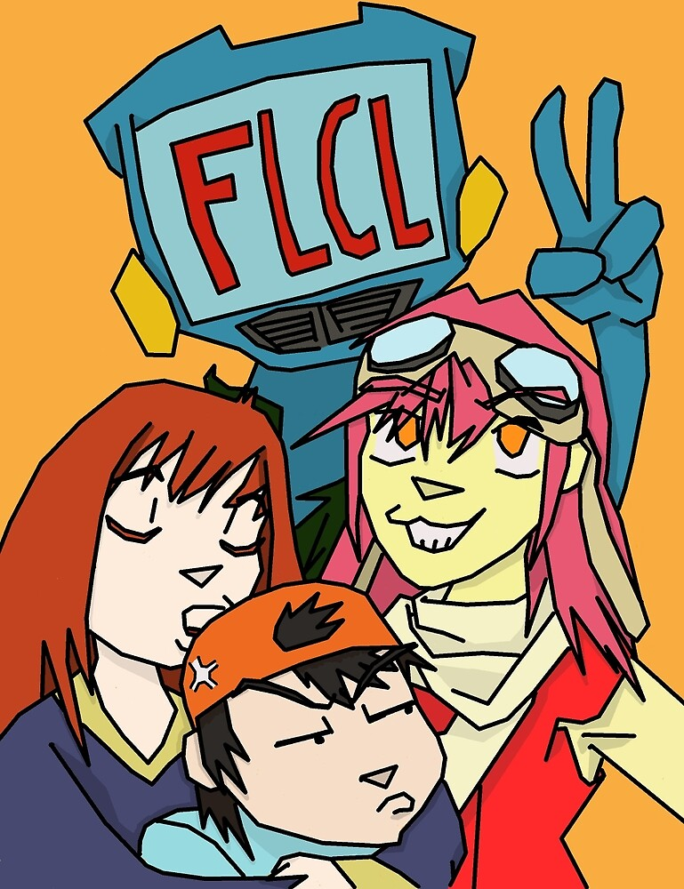 FLCL Poster by LoonyMoonyProds
