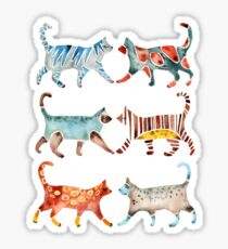 Cat Collection: Watercolor Sticker