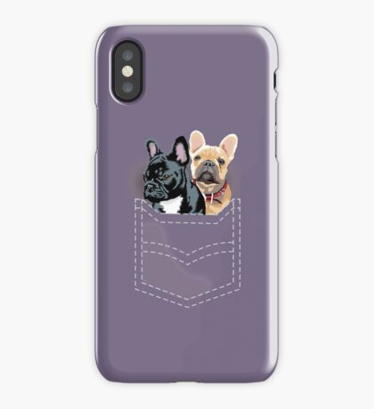 Diesel and Brie in pocket iPhone Case