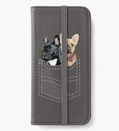Diesel and Brie in pocket iPhone Wallet