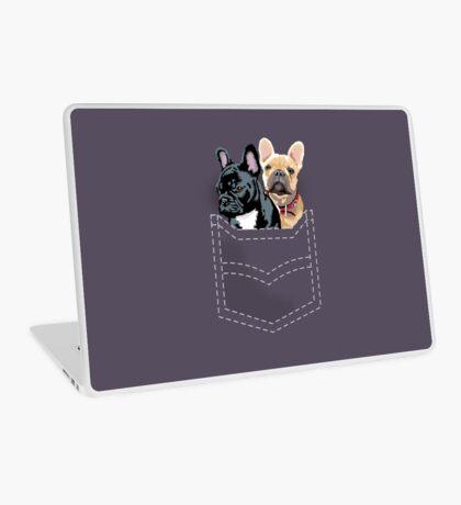 Diesel and Brie in pocket Laptop Skin