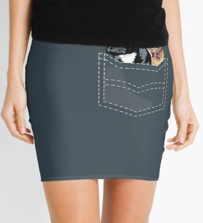 Diesel and Brie in pocket Mini Skirt