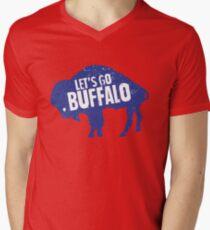 Let's Go Buffalo II Men's V-Neck T-Shirt