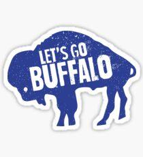 Let's Go Buffalo II Sticker