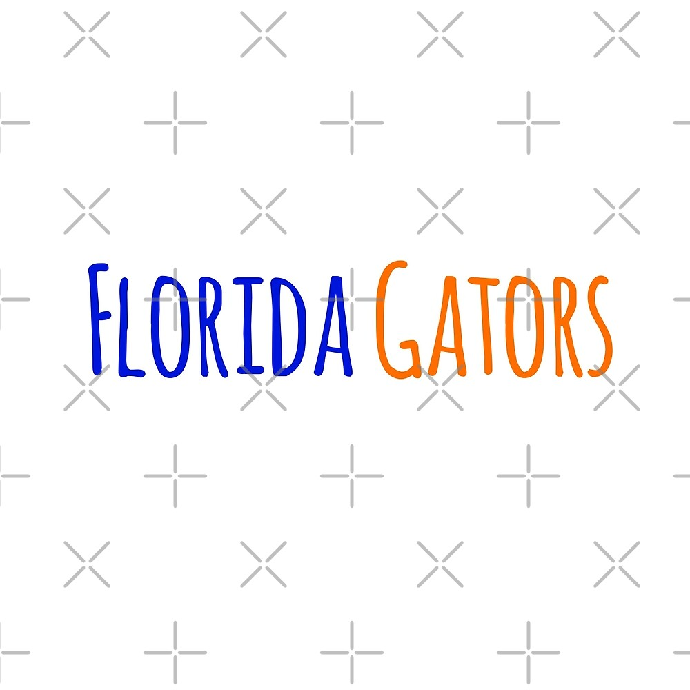 Florida Gators by Olivia Lee