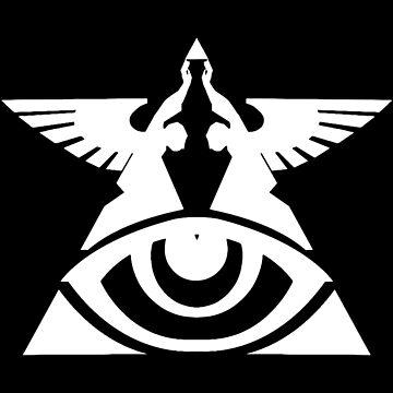 Eden -logo Black and White- by PanzerJoe