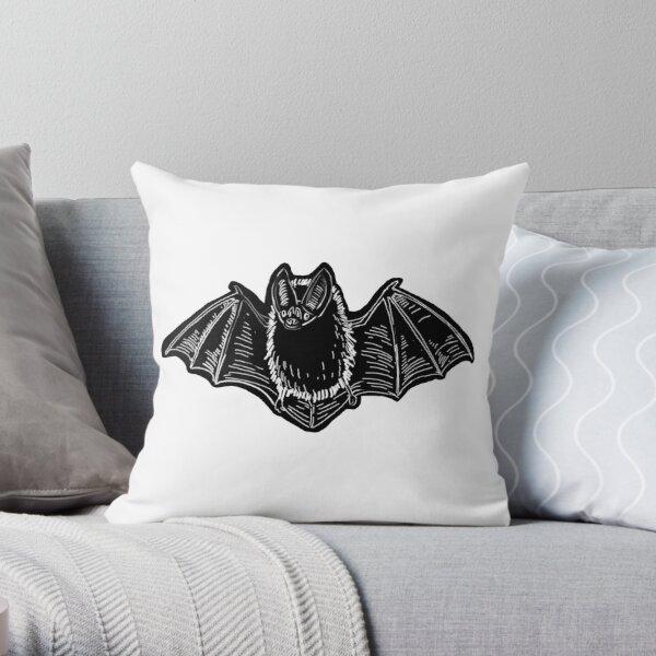 Batty Bat Throw Pillow