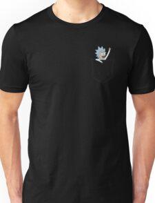 Pocket Pal - Tiny Rick Unisex T-Shirt
