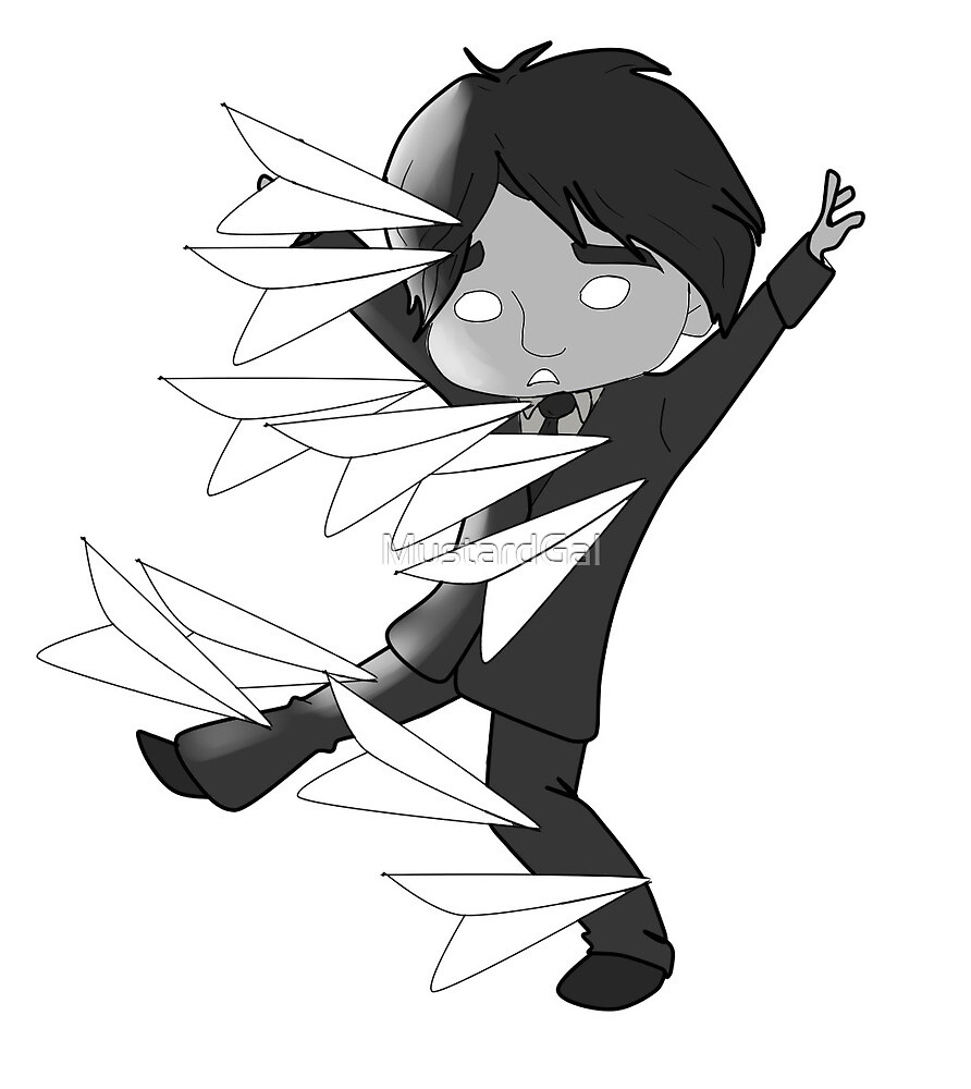 George from Paperman by MustardGal