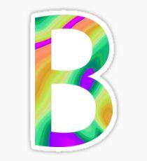 B/Beta - Quartz Texture Sticker