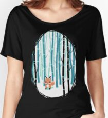 Fox in the Forest Women's Relaxed Fit T-Shirt