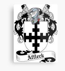 Affleck Metal Print