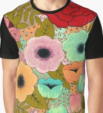 Gouache Garden Graphic T-Shirt