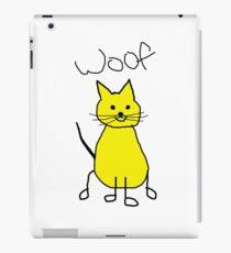 WOOF..THE CAT iPad Case/Skin