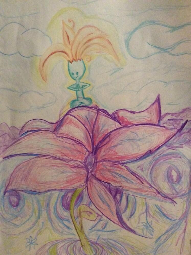 Little flower dude by VedaLoren