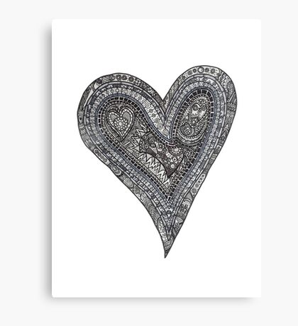 My heart is a complex thing Canvas Print