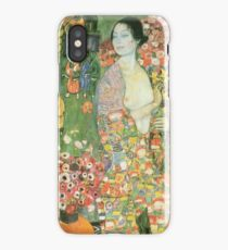 Gustav Klimt - The Dancer 1918 iPhone Case/Skin