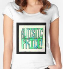 Autistic Pride Women's Fitted Scoop T-Shirt