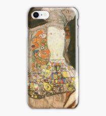 Gustav Klimt - The Bride (Unfinished), 1918 iPhone Case/Skin