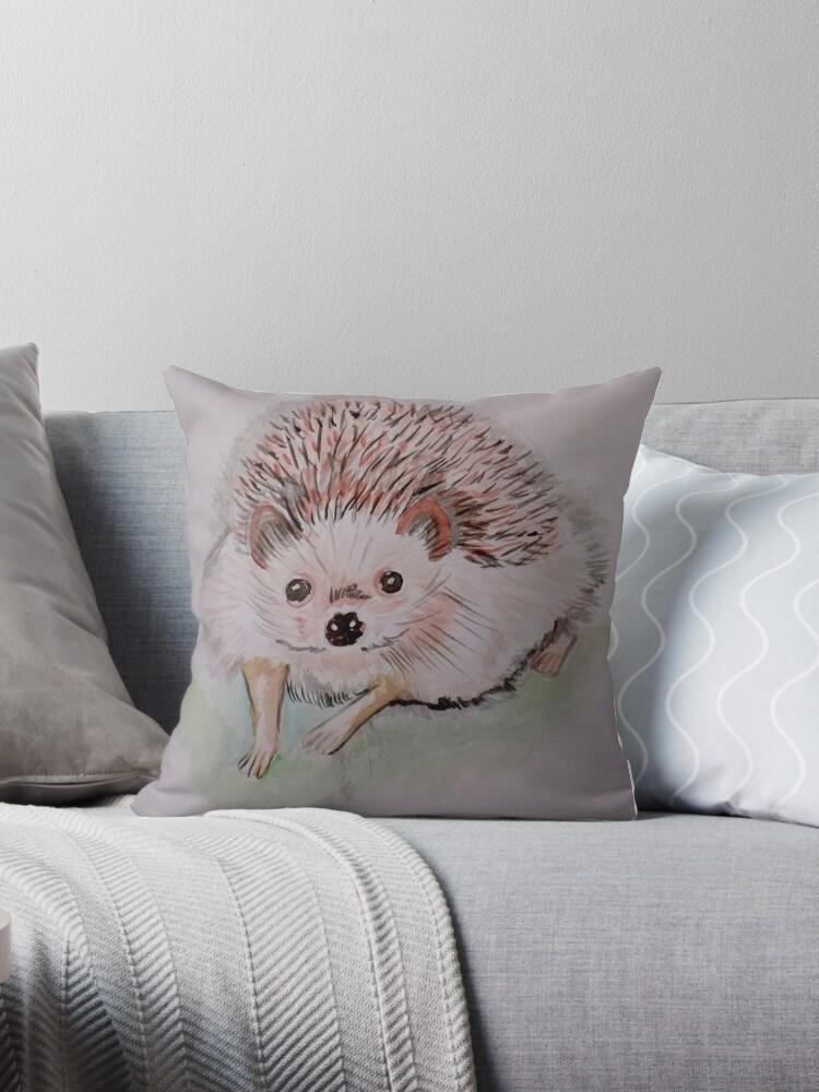 Autumn Hedgehog  by MelsieArt