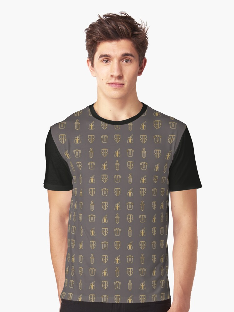 Ser Louis Graphic T-Shirt Front