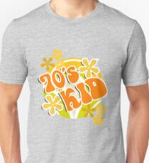 70s Kid - Retro Happy Flowers 1970s Hippies Design Unisex T-Shirt