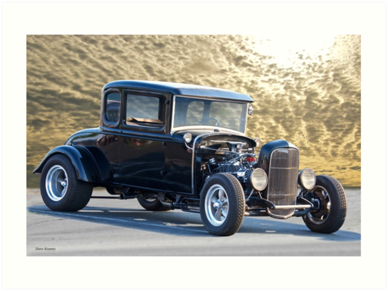 1931 Ford HiBoy Coupe 'Morning Sky' by DaveKoontz