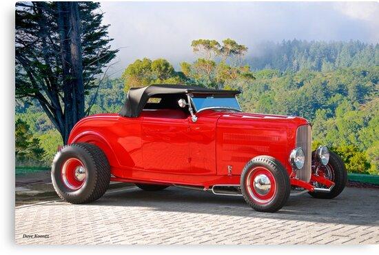 1932 Ford 'Ragtop' Rod by DaveKoontz