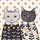 Kittens in Capes by Emma Hampton
