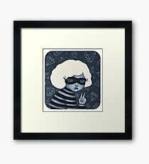 Little Thief Framed Print