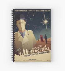 Inspector Spacetime: Day of the Blorgons Spiral Notebook