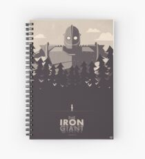 The Iron Giant Spiral Notebook
