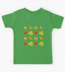Tulips on greenery Kids Tee