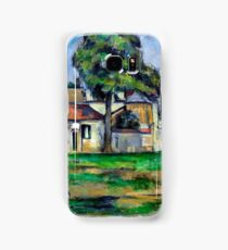 1888 - Paul Cezanne - Banks of the Marne Samsung Galaxy Case/Skin
