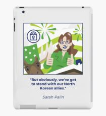 Sarah Palin iPad Case/Skin