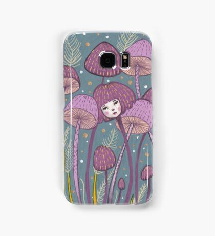 Uncommon Variety - Purple Mushroom Samsung Galaxy Case/Skin