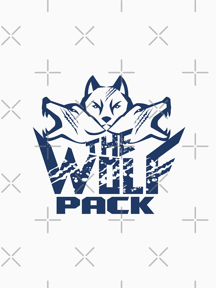 Wolf Pack Grunge Retro by patrimonio