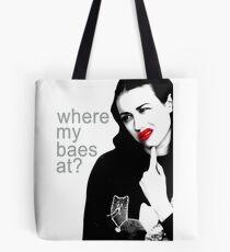 Miranda Sings Where my baes at Tote Bag