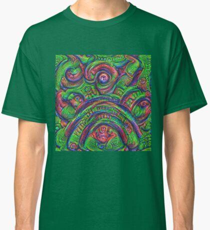 Green #DeepDream Classic T-Shirt