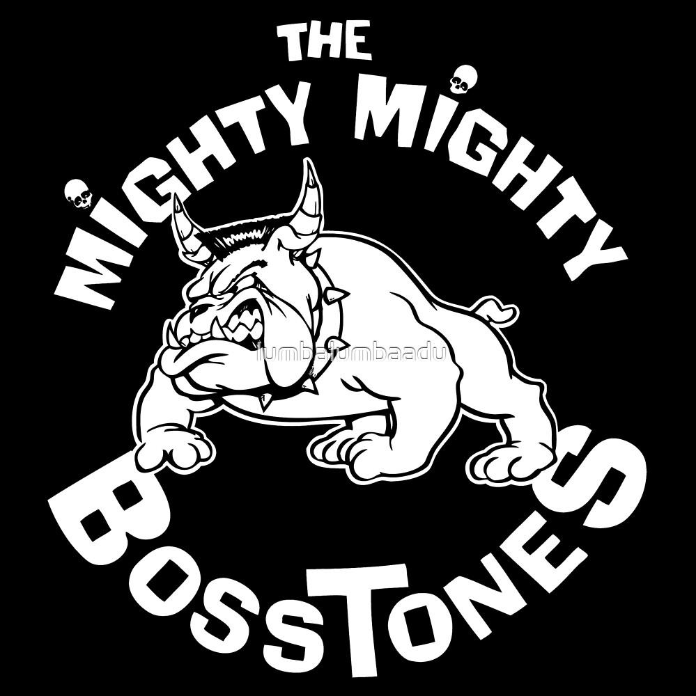THE MIGHTY MIGHTY BOSSTONES LOGO by lumbalumbaadu