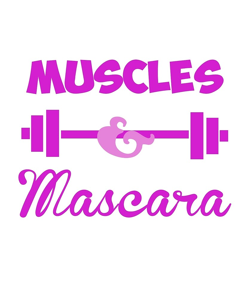 Muscles & Mascara by nusimin