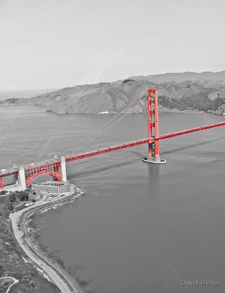 Rouge SF Golden Gate  by David  Perea