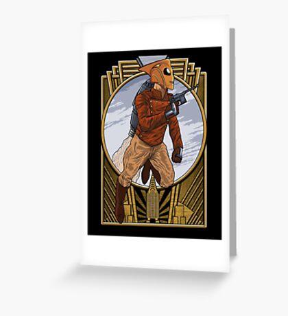 Rocket Man. Greeting Card