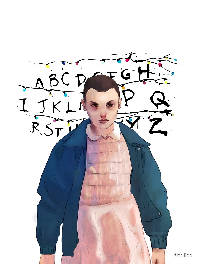Eleven, Stranger Things by tisalice