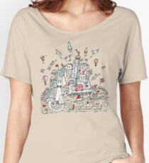 Transport City Women's Relaxed Fit T-Shirt