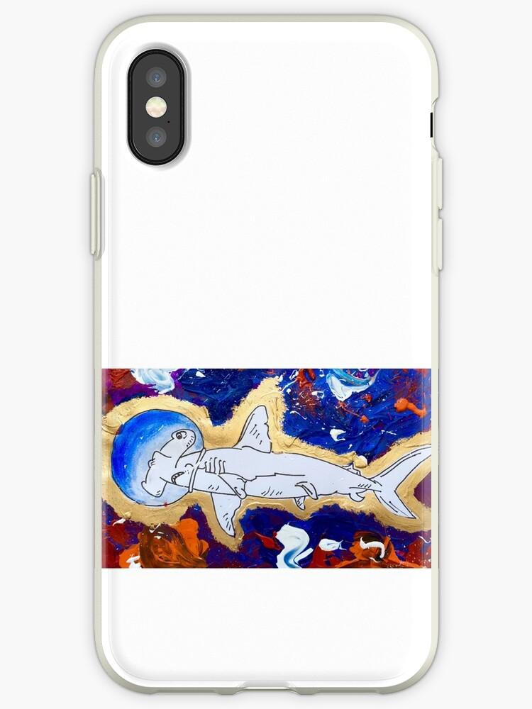 Shark in Space  by chrismatthew